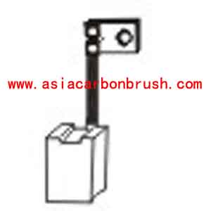 Fiat carbon brush,carbon brush for automobile,car carbon brush,Fiat 91188 JSX 16 2-JS 16